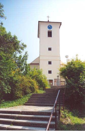 Kostel schody
