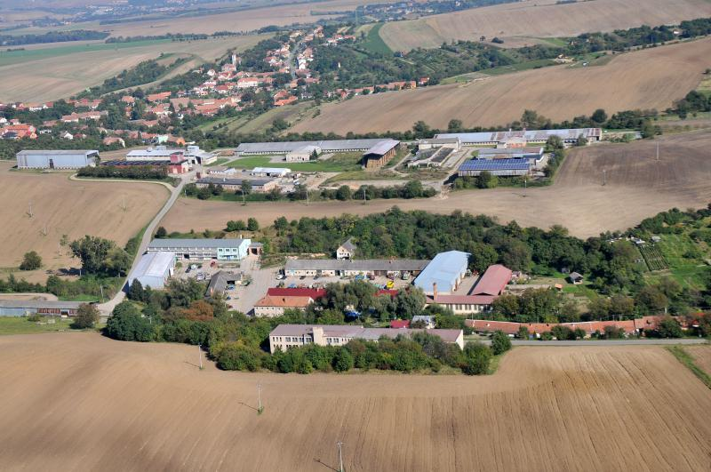 Letecký snímek obce 05