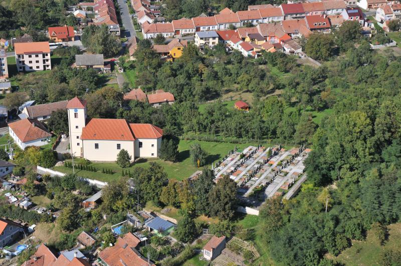 Letecký snímek obce 07