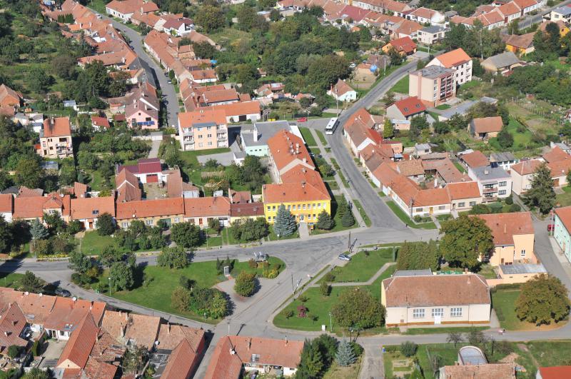 Letecký snímek obce 11