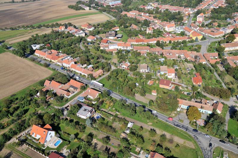 Letecký snímek obce 13