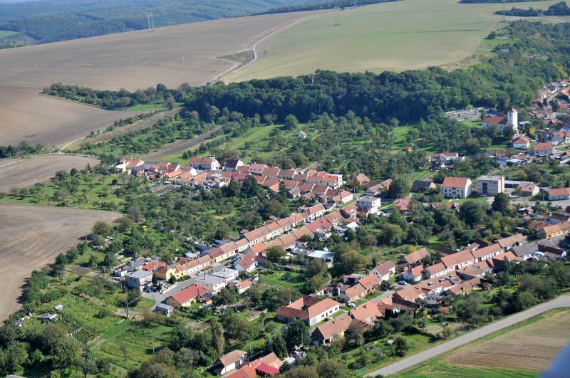 Letecký snímek obce 15