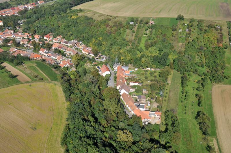 Letecký snímek obce 20