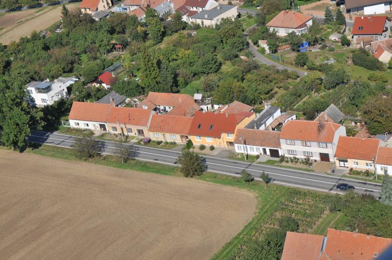 Letecký snímek obce 21
