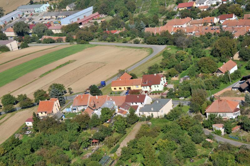 Letecký snímek obce 22