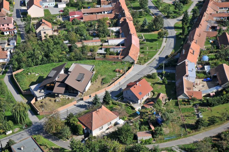 Letecký snímek obce 23
