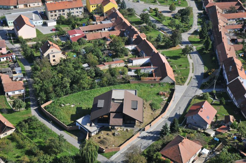 Letecký snímek obce 24