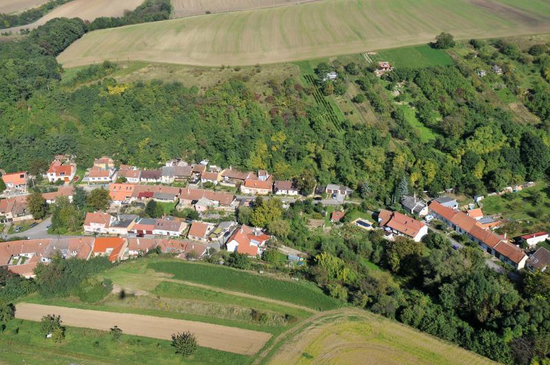 Letecký snímek obce 26
