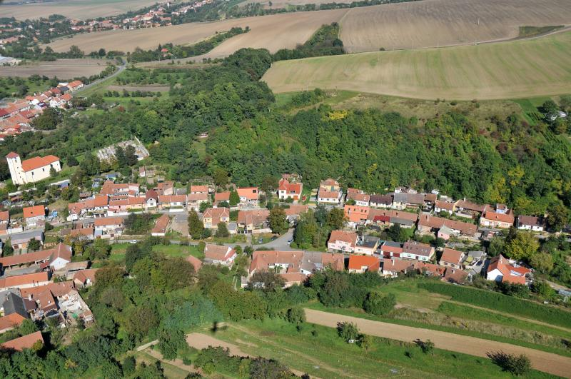 Letecký snímek obce 27