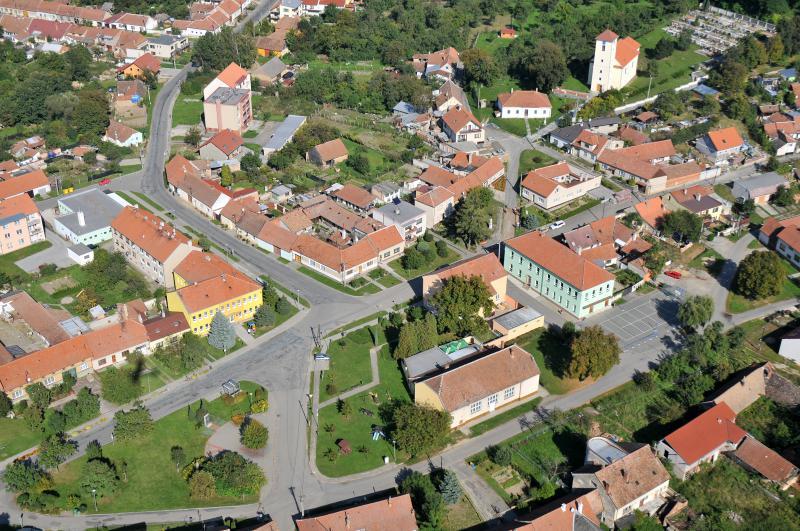 Letecký snímek obce 31