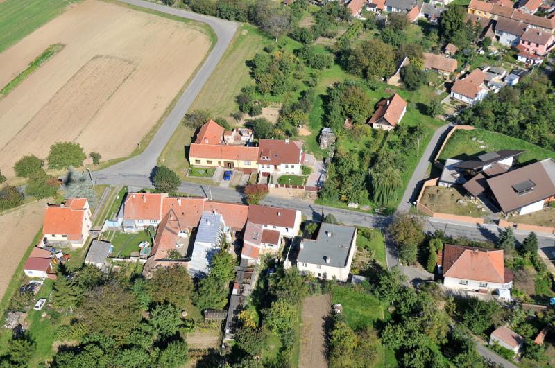 Letecký snímek obce 34