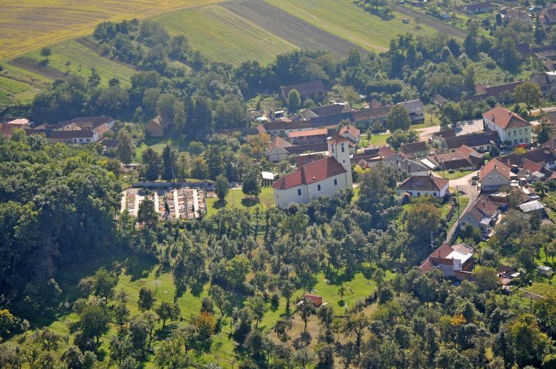 Letecký snímek obce 36