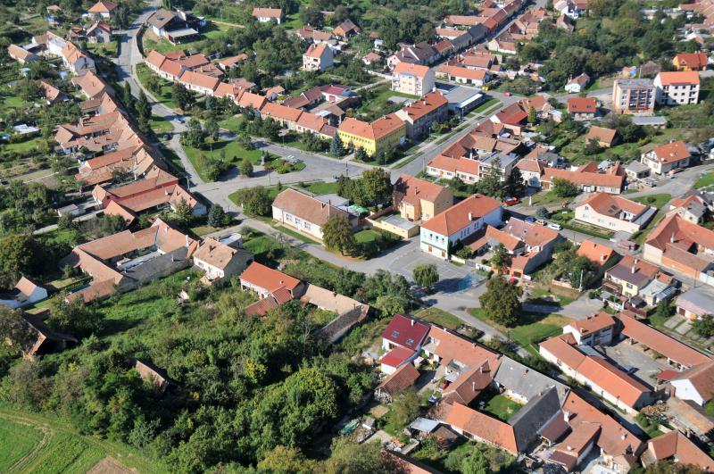 Letecký snímek obce 53