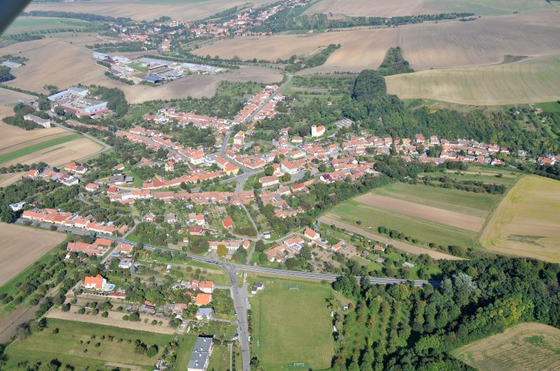 Letecký snímek obce 59