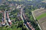 Letecký snímek obce 16
