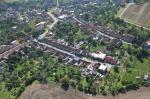 Letecký snímek obce 17