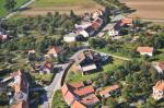 Letecký snímek obce 40