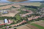 Letecký snímek obce 46