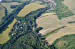 Letecký snímek obce 61