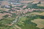 Letecký snímek obce 64