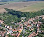 Letecký snímek obce 75