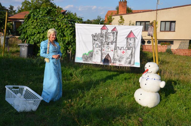 Z pohádky do pohádky 2015 Elza a Olaf