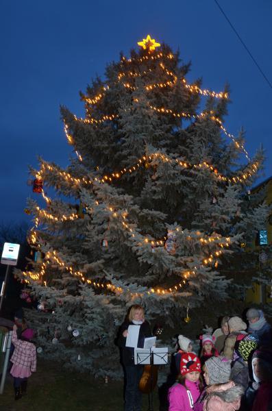 Rozsvěcení vánočního stromu - 05