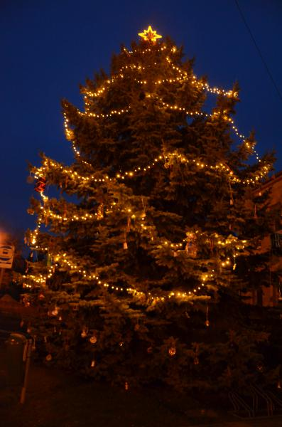 Rozsvěcení vánočního stromu - 08