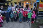 Rozsvěcení vánočního stromu  - vystoupení dětí 01