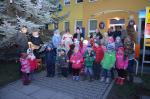 Rozsvěcení vánočního stromu  - vystoupení dětí 02