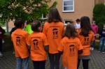 Předání triček Školnímu parlamentu